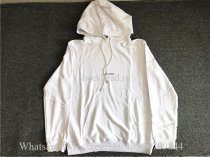 Saint Laurent White Sweat Hoodie