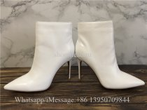 Christian Louboutin High Boots White