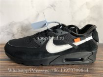 Off White x Nike Air Max 90 OG Black