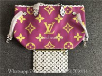 Louis Vuitton Giant Monogram Neverfull MM M44588 Pink Lilac