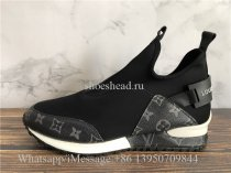 Louis Vuitton Run Away Sneaker Black
