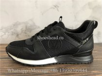 Louis Vuitton Monogram Casual Sneakers Black