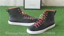 Gucci GG Leather High Top Sneaker