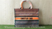Christian Dior Book Tote bag M1286 Orange