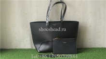 YSL Saint Laurent East-West Handbag Shopping Bag black Set 394195 csv0j