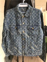 Louis Vuitton Blue Denim Jacket