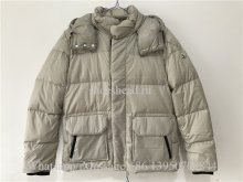 Moncler Grey Down Glacier Jacket