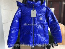 Moncler Genius Blue Down Jacket