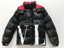 Valentino Moncler Maxi VLTN Quilted Short Down Coat