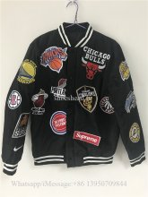 Supreme 18ss x NBA Teams Jacket