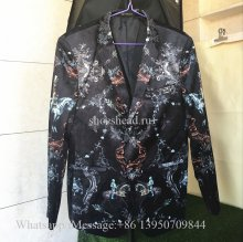 Versace Men Printed Casual Suit