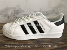 Adidas Superstar Sneaker Black White