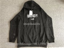 Givenchy Black Hoodie With Hole