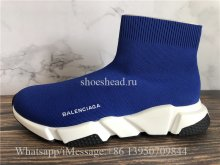 Balenciaga Speed Sock Trainer Blue