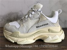 Balenciaga Triple S Cream White Sneaker