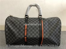 Louis Vuitton Discovery Travel Bag PM Damier Cobalt Canvas