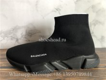 Balenciaga Speed Trainer Sock All Black