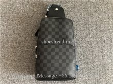 Original Version Louis Vuitton Mens Avenue Sling Bag Damier