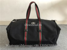 Original Quality Gucci Technical Canvas Duffle Bag