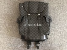 Louis Vuitton Christopher Damier Graphite PM Black Backpack