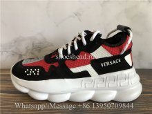 2Chainz Versace Chain Reaction Sneaker Red Black White