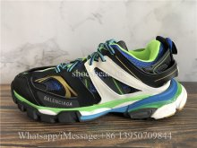 Balenciaga Track 3.0 Shoes Green Blue Black