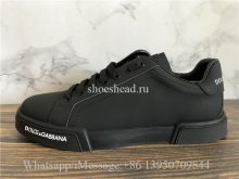 Dolce & Gabbana Portofino Sneakers Leather Rubber