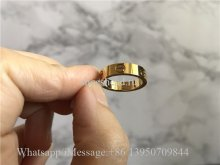 Cartier Love Ring Yellow Golden