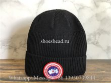 Canada Goose Black Sweater Hat