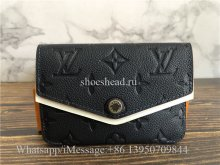 Original Quality Louis Vuitton Monogram Empreinte Blue Wallet M62017