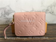 Original Quality Louis Vuitton Pink Short Wallet M60740