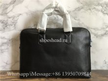 Original Quality Louis Vuitton Black Leather Laptop Bag