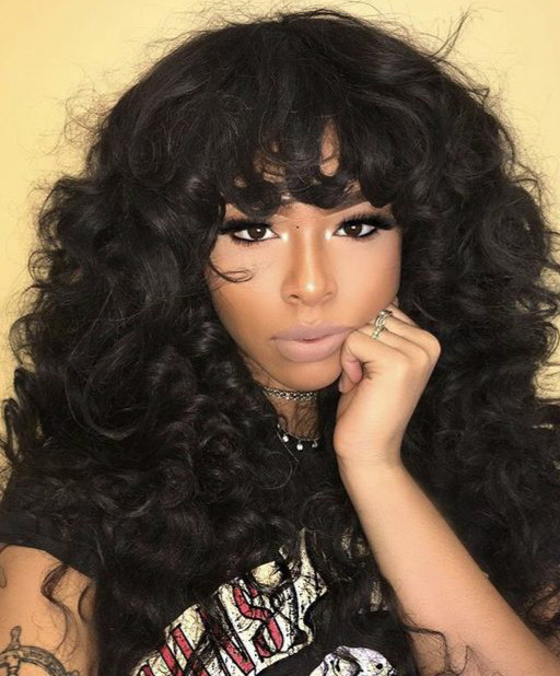 Ladystar 24 Curly Long Wigs For African American Women The Same As The Hairstyle In The Picture