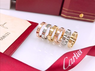 Cartierss Stainless Steel Screw Nail Ring Jewelry