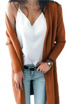 As Show V Neck Solid Acrylic Pure Long Sleeve  Sweaters & Cardigans MMY01023