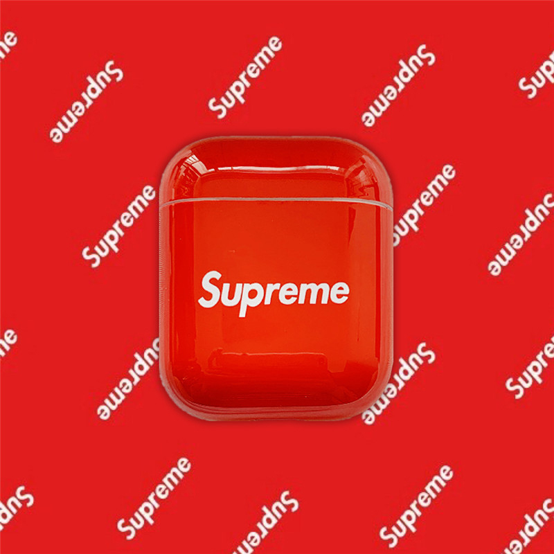 Buy Supreme Water Sticker Airpods Case Apple Bluetooth Protection