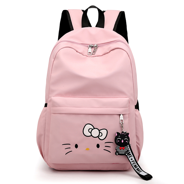 Cute Backpacks Girls Nylon Fabric School Bags For Kids
