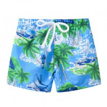 Children's boutique clothing summer shorts printed beach pants for kids