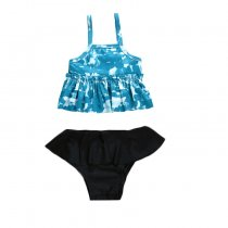 New style bikini kids swimwear two pieces girls swimsuit