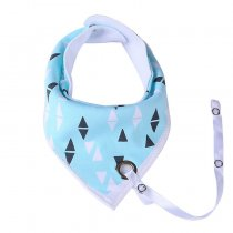 China Product Baby Bibs Bandana Cotton Waterproof Baby Bibs