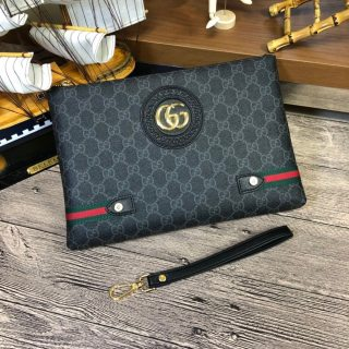 Gucci HOT Fashion Classic Leather Man Handbag Wallet