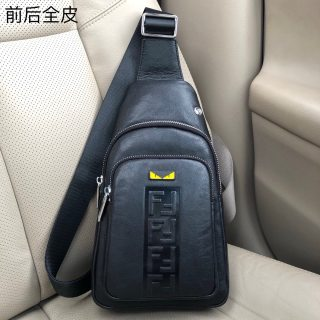Fendi HOT new high quality leather men chest bag