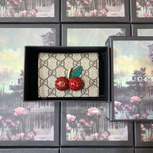 Gucci HOT Fashion Woman High Quality Wallet Wallet Card Case + Box