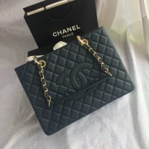 Chanel top casual woman handbag shoulder bag shopping bag cowhide