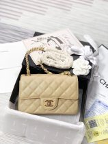 Chanel classic fashion original woman shoulder bag messenger bag cowhide