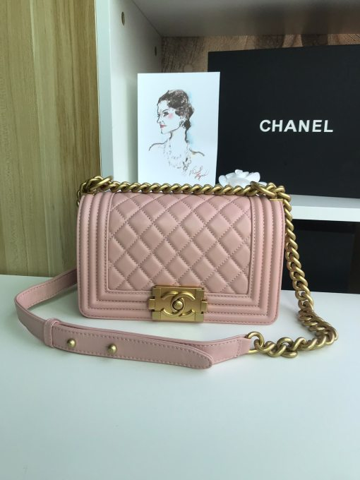 Chanel Classic Original Woman Chain Shoulder Bag Crossbody Sheepskin