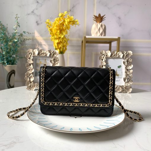 Chanel Fashion Original Woman Chain Shoulder Bag Crossbody Wallet