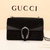 Gucci classic high quality suede woman one shoulder handbag