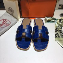 Hermes new fashion high quality women flat slippers