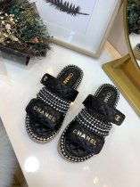 Chanel Fashion HOT High Quality Women Flat Slippers